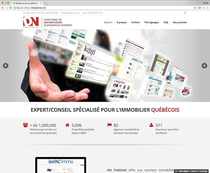 dnpublicite.com