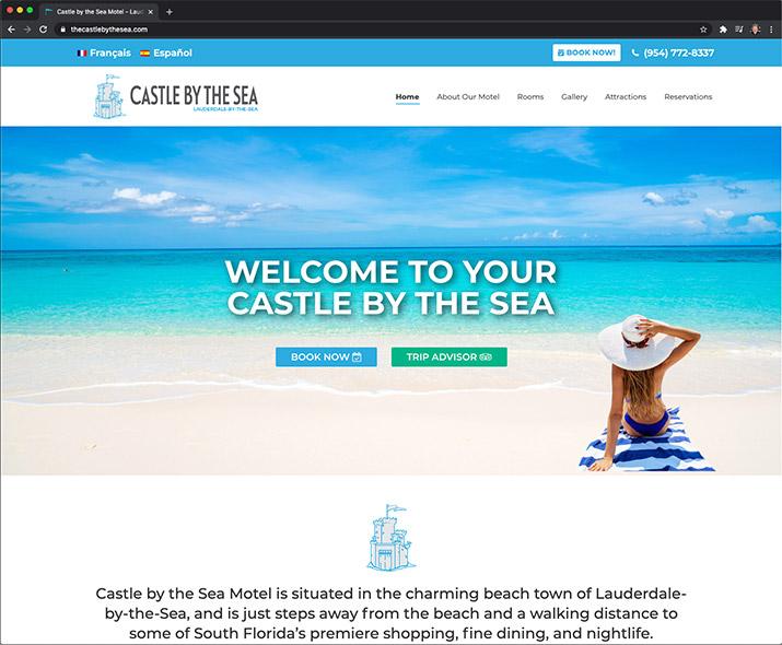 thecastlebythesea.com